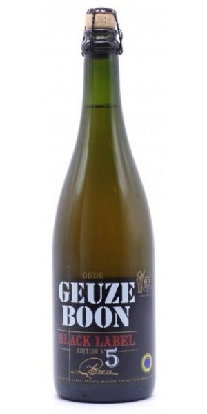 Boon Oude Gueze Black Label Edition 5 (75cl)